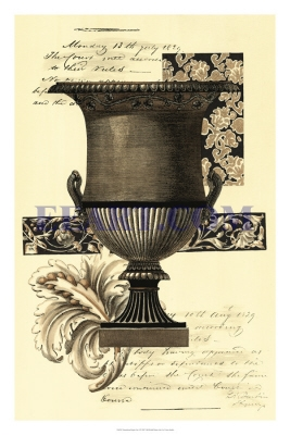 Transitional Sepia Urn I
