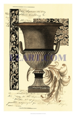 Transitional Sepia Urn II