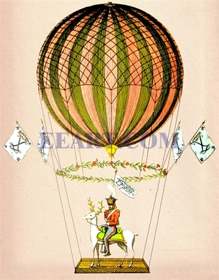 Hot Air Balloon Zephire