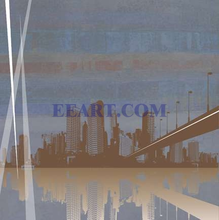 City Scape  Print On Demand